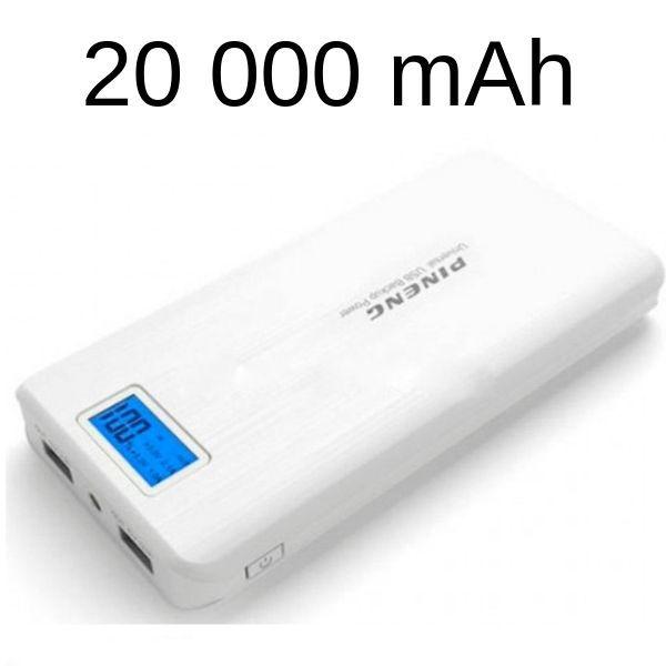 Super Carregador Portátil Pineng Power Bank 20.000 Mah