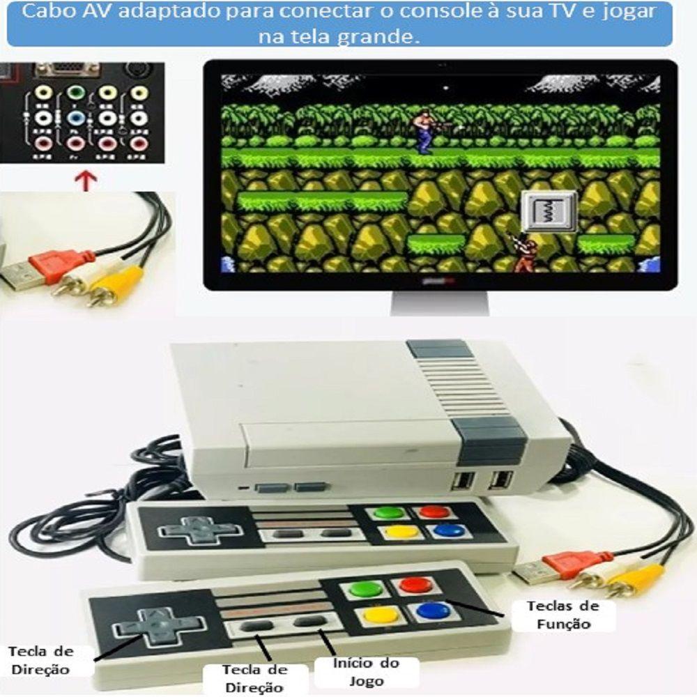Super Game com Jogos Clássicos 8bits - Eony