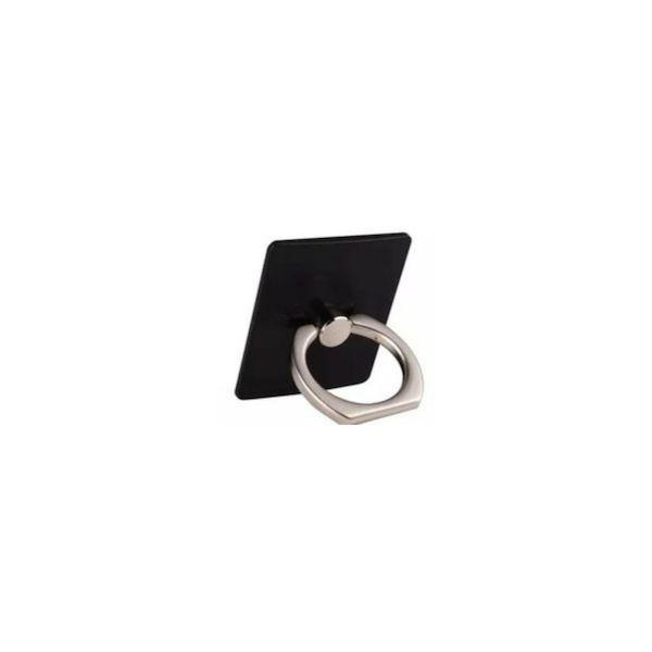 Suporte Anel Ring Preto Com Suporte Hook Para Smartphone
