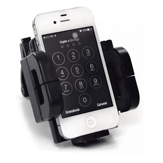 Suporte para Smartphone e GPS com Ventosa Lelong - LE-017