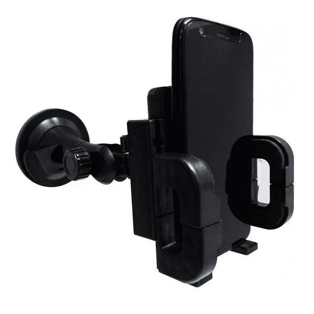 Suporte Universal Veicular GPS Smartphone Com Ventosa LE-017