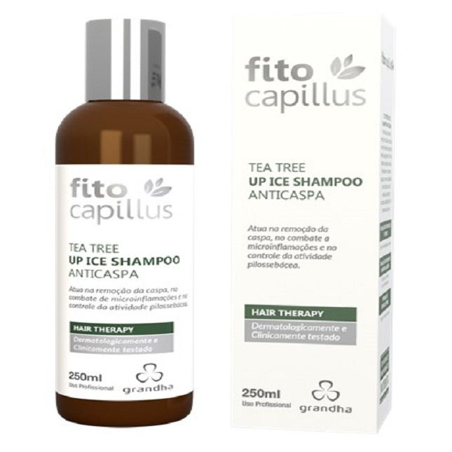 TEA TREE UP ICE SHAMPOO ANTICASPA 250ML