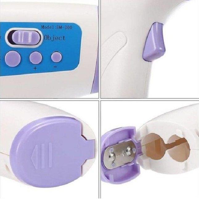 Termômetro  Infravermelho Laser Digital Bebê e Adulto RB + Aparelho Oxímetro Digital De Dedo Medidor De Saturação Oxigênio