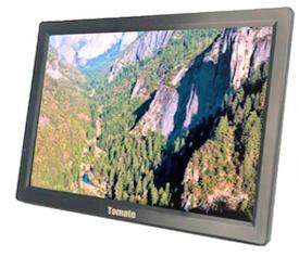 Tv Digital Portátil Monitor 9 Polegadas Tomate MTM 909