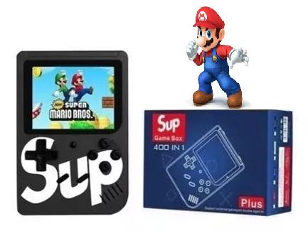 Vídeo Gamer Portátil 400 jogos Nes Nintendo Sega Gba