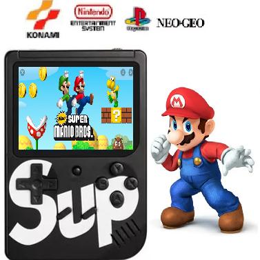 Vídeo Gamer Portátil 400 jogos Nes Nintendo Sega Gba Lançamento