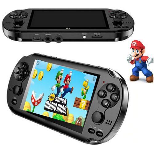 Video Gamer Portátil jogos Nes Nintendo Sega Gba Mp4 Filmes X9-S Lançamento