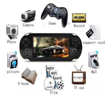 Video Gamer Portátil jogos Nes Nintendo Sega MP4 com Fone ouvido Lançamento