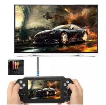 Video Gamer Portátil jogos Nes Nintendo Sega MP4 Fone saída para TV Lançamento