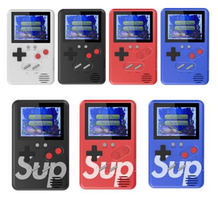 Vídeo Gamer Portátil Slim 500 jogos Nes Nintendo Sega Gba