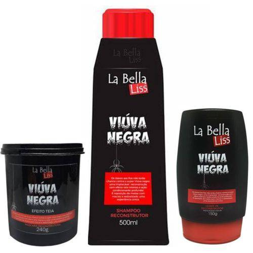 La Bella Liss Viúva Negra Kit Completo de Reconstrução