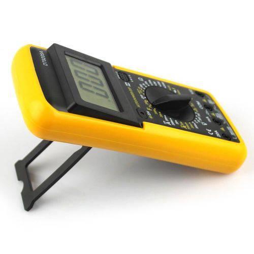 Voltímetro Amperímetro Multímetro Digital Profissional Inteligente e Capa Dt-9205a