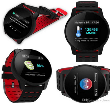 w1 Relógio Smartwatch Android, Notificações  Bluetooth, Pressão Arterial Frequecia Cardiaca- Preto