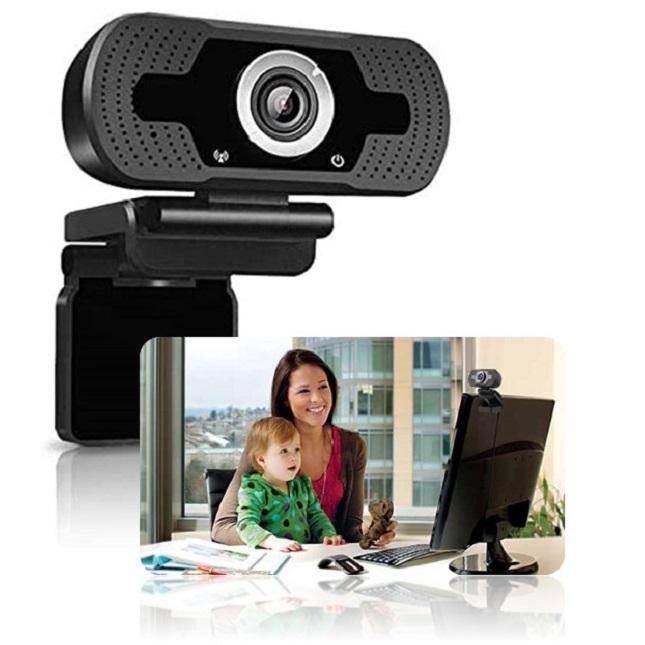 Webcam Full Hd 1080p Usb Câmera Alta Resolução