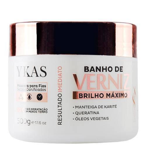 Ykas Máscara Banho De Verniz - 500gr