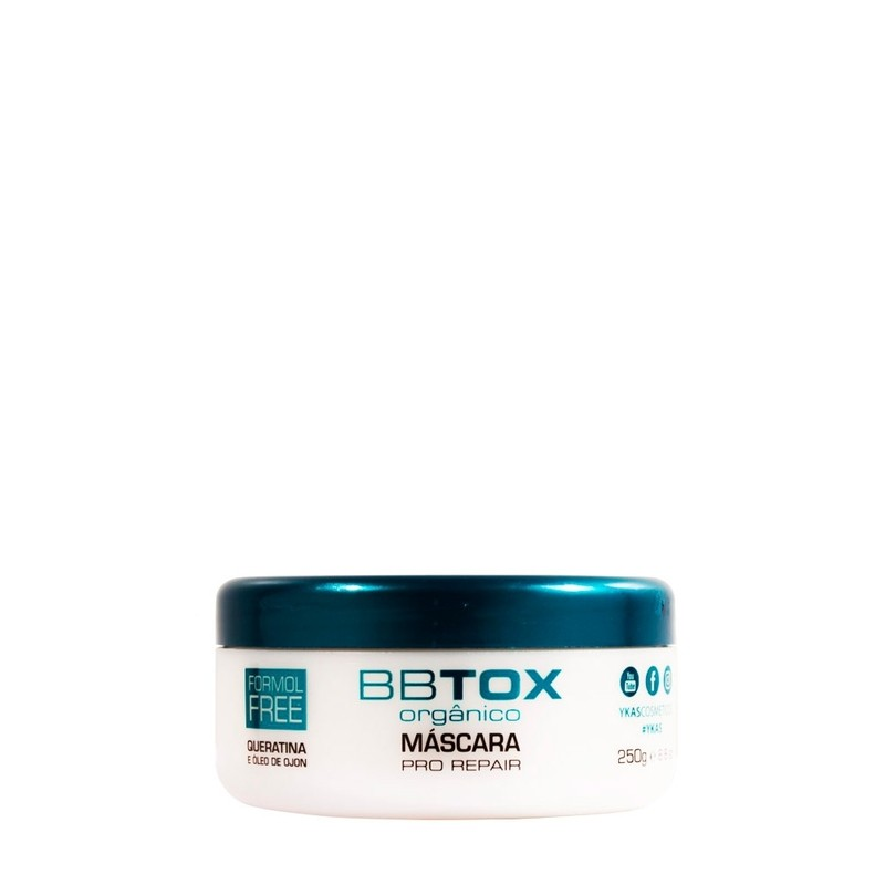 Ykas Orgânico BBTOX Máscara Pro Repair 250g