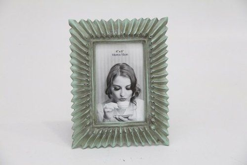 Porta Retrato Decorativo Em Poliresina - 3955