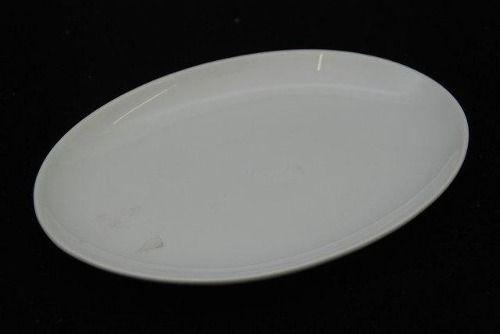 Travessa De Porcelana Schmidt Branco 23 X 17 - I205