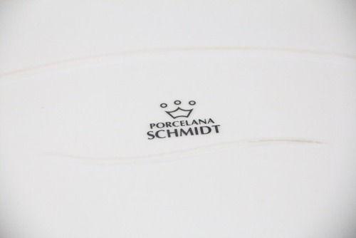 Travessa De Porcelana Schmidt Branco 32 X 21 - I31