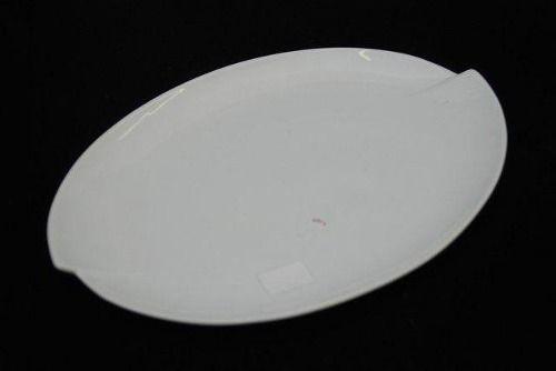 Travessa De Porcelana Schmidt Branco 40 X 27 - I212
