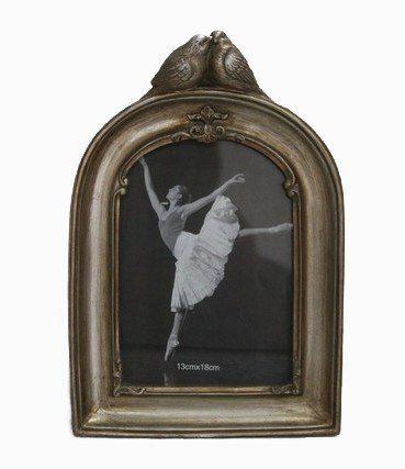 Porta Retrato Decorativo Em Poliresina - 3937 13x18