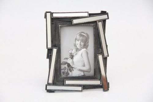 Porta Retrato Decorativo Em Poliresina - 3913 10x15