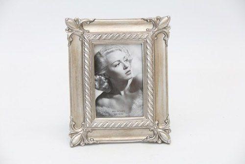 Porta Retrato Decorativo Em Poliresina - 3890 10x15