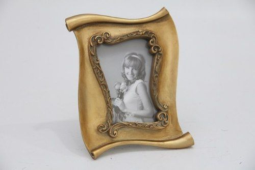Porta Retrato Decorativo Em Poliresina - 4008