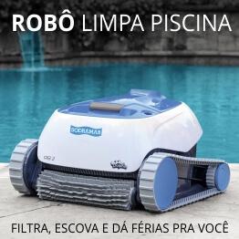 Robô Limpa Piscina