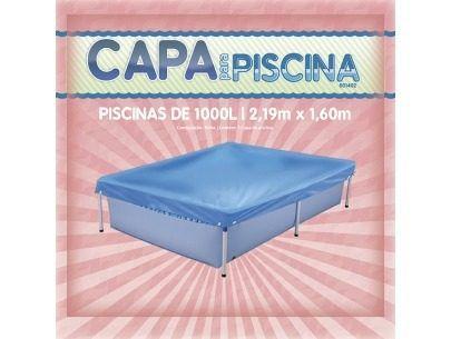 Piscina + Capa + Forro De 1000 Litros - Mor