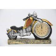 Relógio Decorativo De Metal 16x23x6- F602