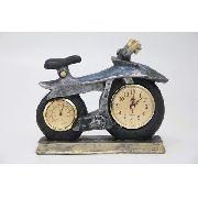 Relógio Decorativo De Metal 20x37x7- F601