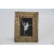 Porta Retrato Decorativo Em Poliresina - 3887 10x15