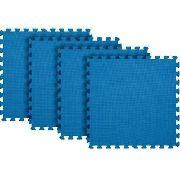 Tatame Eva 1cm 4 Peças Azul - Mor