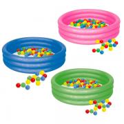 Banheira Piscina Infantil Inflável Circular 130 Litros - Mor