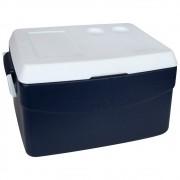 Caixa Térmica Glacial 48 Litros Azul  Mor - Promoção