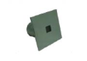 Dispositivo de Retorno Quadrado em Aço Inox 60mm Platinum Pooltec