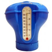 Dosador de Cloro Flutuante com Termômetro - Sodramar