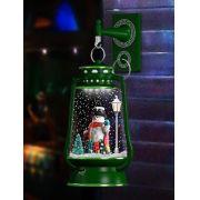 ENFEITE DEC EM LAMP NATAL P/ PAREDE C/ PINHEIRO LW2