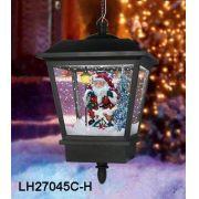 ENFEITE DEC EM LAMP NATAL P/ PENDURAR C/ PAPAI NOEL