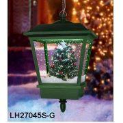 ENFEITE DEC EM LAMP NATAL P/ PENDURAR C/ PINHEIRO