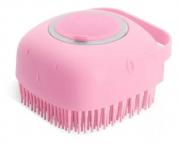 Esponja De Silicone Para Banho Massageadora