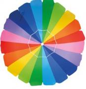 Guarda-Sol Praia Piscina 2,20m de Poliéster Rainbow Alumínio - Mor