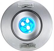 Hiper led Premium (tubo de 50) 9W RGB corpo ABS frontal inox - Sodramar