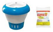 Kit Clorador Flutuante + 1 pastilha Genco