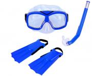 Kit de Mergulho Diver azul - Nautika