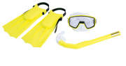 Kit de Mergulho Pacific amarelo - Nautika