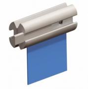 Kit perfil linear flangeamento de piscina ( Metro linear) - Sodramar
