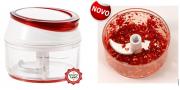 Mini Processador Manual para Chimichurri Pestos Alhos Temperos e Nozes - Prana