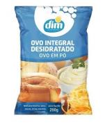 Ovo Integral Desidratado Em Pó Alimento Completo 250g Dim